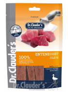Entenbrustfilet 80g - Soft dried Strips (100% Fleisch)