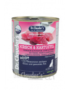 Dr. Clauder Selected Meat Hirsch & Kartoffel 800g